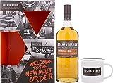 Auchentoshan American Oak Whisky mit Geschenkverpackung mit Tasse (1 x 0.7 l)