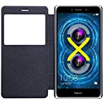 Huawei Honor 6X SmartLike Leather Flip Cover for Huawei Honor 6X Black