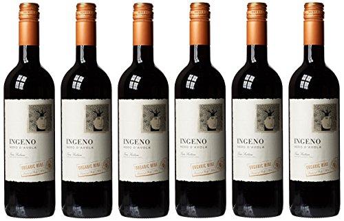 Trambusti Ingeno Nero D'Avola Terre Siciliane Organic Wine 75 cl (Case of 6)