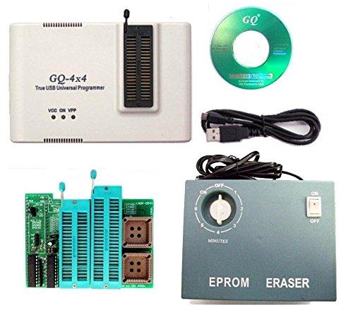 GQ prg-113gq-4X V4(gq-4X 4) Universal USB Programmierer + UV-Eprom Radierer + 16Bit EPROM Adapter Unterstützung 2827F102C40027C80027C16027C32227C102427C204827C409627) - Eprom Uv