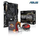 Memory PC Aufrüst-Kit Bundle AMD Ryzen 5 2600X 6X 3.6 GHz, ASUS TUF X470-Plus Gaming, komplett fertig montiert.