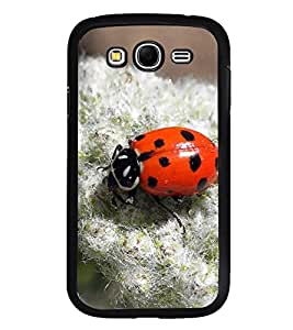 Fuson Designer Back Case Cover for Samsung Galaxy Grand Neo Plus I9060I :: Samsung Galaxy Grand Neo+ (Lady Bug Insect beetle Colourful Red)