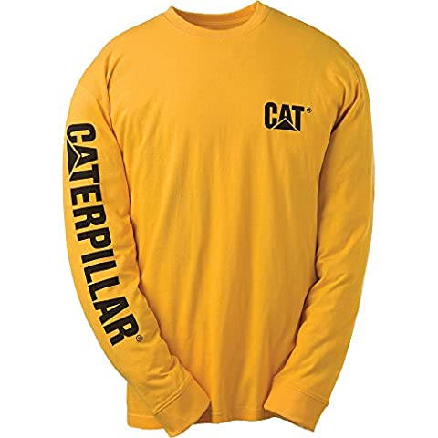 Caterpillar - Tee shirt à manches longues banner Caterpillar - 1510034 - Jaune, M