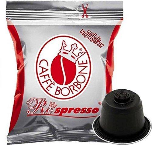 ~ CAPSULE RESPRESSO CAFFE' BORBONE COMPATIBILITA' NESPRESSO BLU ROSSA NERA ORO DEK A SCELTA (100, ROSSA) recensioni dei consumatori