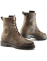 Motorcycle TCX x-Blend Boots WP Black 4