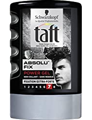 Taft - Gel Coiffant - Power Gel Absolu'Fix - Flacon 300 ml