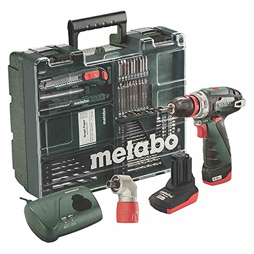 Metabo PowerMaxx BS Q Pro 10,8 V Akku-Bohrschrauber, 2,0 / 4,0 Ah Mobile Werkstatt, 600157880