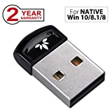 Avantree Plug & Play Bluetooth 4.0 USB Dongle Adapter für Native Windows 10, 8.1, 8 PC & Computer (Nicht für Upgraded Systeme), Wireless Laptop Stick für Musik, VOIP, Tastatur, Maus - DG40SA