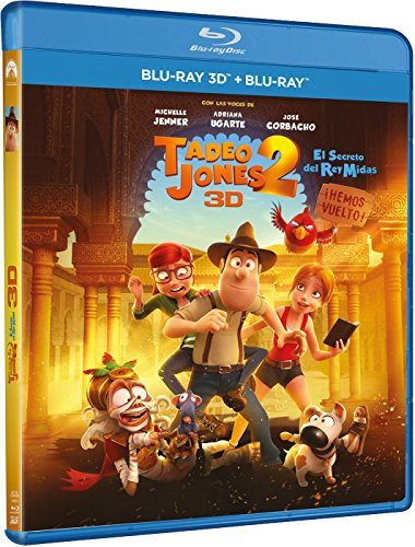 Tadeo Jones 2: El Secreto Del Rey Midas (BD 3D + BD) [Blu-ray]