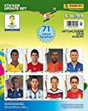 Panini World Cup Coupe du Monde Brazil 2014 - Set of updates 71 stickers NEW