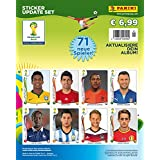 Panini 506990 - Fifa World Cup Brasil 2014, Sammelsticker Update Set mit 71 Sticker