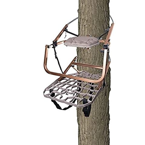 Lone Wolf Wide Flip Top Climber Treestand Deer Hunting Climbing Made in USA NEW by Lone Wolf Treestands