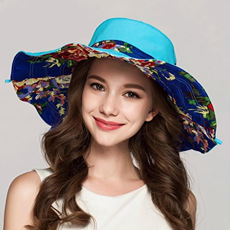 Cappello Estivo da Donna Estivo da Sole Pieghevole Sole ZHAOSHUNLI ... 97d22751f66d