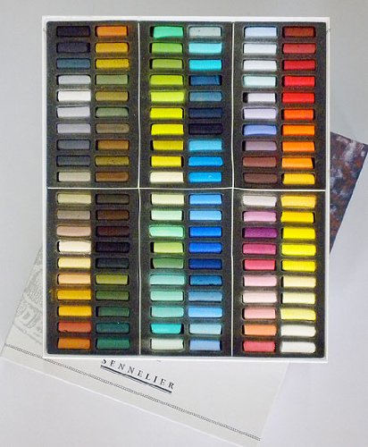 1/2 Soft Pastel C/Board 120 Paris Collection NEW