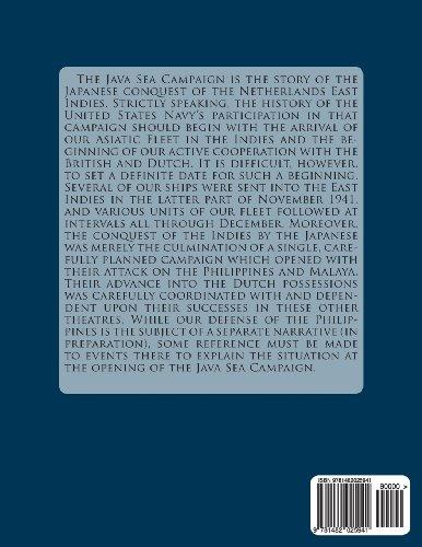 The Java Sea Campaign: Combat Narratives