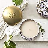 La Jolíe Muse Duftkerze Vanille Kokosnuss 100% Sojawachs Kerze in Dose 185g 45Std Geschenk Für Muttertag - 3