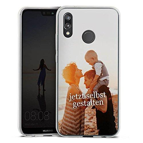 DeinDesign Huawei P20 Lite Silikon Hülle Case Handyhülle Selbst Gestalten Personalisieren Zum Anpassen