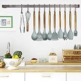 Küchenutensilien Silikon und Holz Corafei