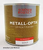Metall-Effekt- Effektfarbe Gold 375 ml