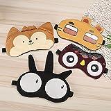 Wicemoon Dibujos Animados de Animales Durmiendo Máscaras de Ojos Sombra Para Niños