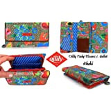 Oilily Funky Flowers L Wallet - Khaki