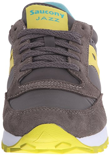 Saucony Jazz Original, Scarpe Low-Top Donna Charcoal lime