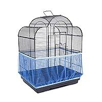 غطاء قفص الطيور العالمي من انتولي بقفص الطيور قابل للتمدد شبكة نايلون قفص الطيور شبكة لينة هوائية