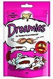 Dreamies Katzensnack mit Rind, 3er Pack (3 x 60g)