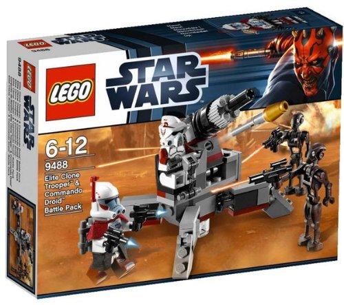 Image of Stars Wars - Elite Clone Trooper & Commando Droid - 9488