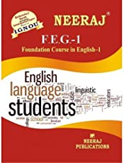 FST1-Foundation course in science and technology (IGNOU help book for FST-1 in English Medium)