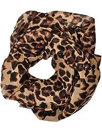 1fc78bdf81d0 Heyjewels Echarpe Foulard Paréo Léopard Imprimé Classique Vogue Léger ...
