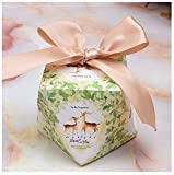 Gift Diamond Shape Candy Box Wedding Favors And Box Party Supplies Paper Chocolate Boxes Packages B