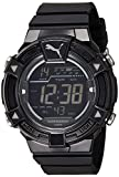 Puma Digital Black Dial Men's Watch-PU91...