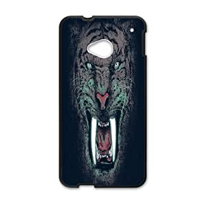 HTC One M7 Phone Case Sabre Tiger B1130785