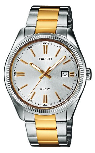 Casio Neo-display Uhr, (Casio Collection Herren-Armbanduhr MTP 1302PSG 7AVEF)