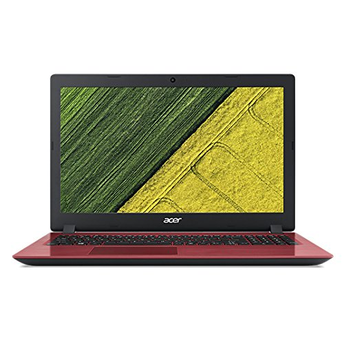 Acer Aspire A315-51 15.6-Inch LCD Notebook - (Red) (Intel i3-6006U 2 GHz, 4 GB RAM, 128 GB SDD, Windows 10 Home)