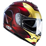 HJC Casque de Moto IS-17 IronMan MC1, Rouge, Taille M