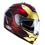 HJC IS-17 IRONMAN MC1 MARVEL -Casco de moto de prasol, Gr.M (57/58)