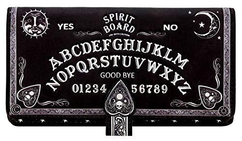 Nemesis Now Spirit Board Geldbörse, geprägt, 19 cm, Schwarz, PU, Einheitsgröße