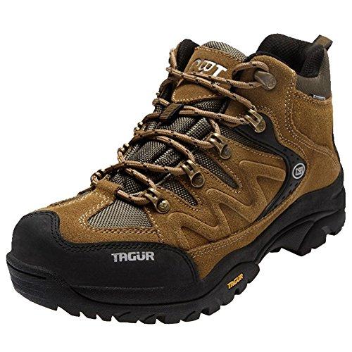 [Chaussures de Randonnée] Basses Homme Imperméable Chaussures Sécurités Antidérapantes Léger Marche Respirant Quotidien Sport Confort-iisport Jaune