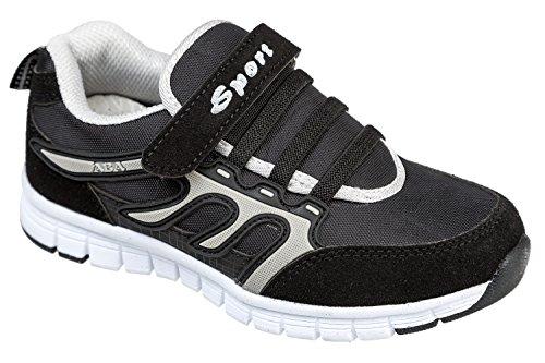 gibra, Sneaker bambini Nero (antracite/nero)