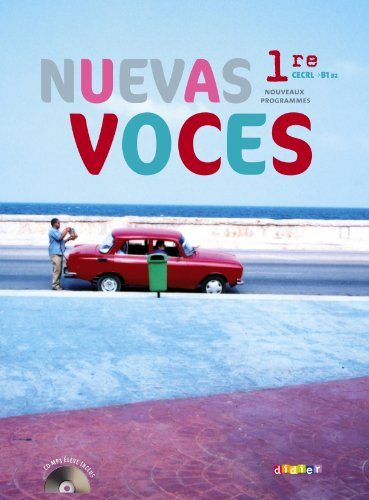 Nuevas Voces 1re - manuel grand format + CD mp3