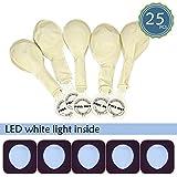 SMARCY Globos de Luces LED Decoración para Fiestas (Blanco)