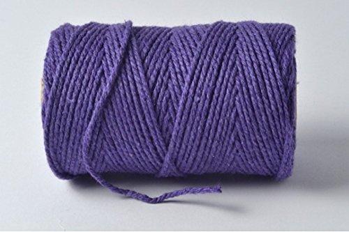 Cadbury Violet/violet 100% coton Ficelle – 10 metres Longueur de coupe par Cranberry Card Company
