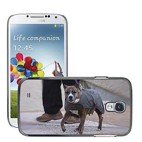 Carcasa Funda Prima Delgada SLIM Casa Case Bandera Cover Shell para // M00113416 Dog Jacket Pet Canine Wearing // Samsung Galaxy S4 S IV SIV i9500