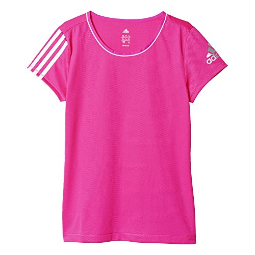 adidas Mädchen T-Shirt YG T C Tee, Rosa, 104, 4055343524320