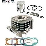 zylinderkit RMS Repuesto 50cc para AC, 10mm pistón pernos Aprilia, Amico (1991–1992), (a partir de 1993), GL, deportes, SR 50(hasta 1994), MBK, Booster, Slider, Yamaha, BWS, Stunt, Target, Zuma