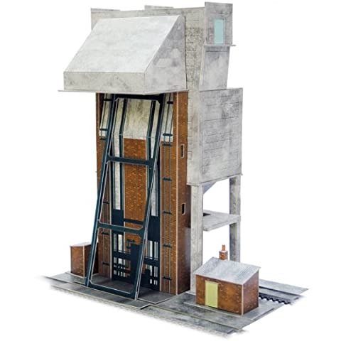 Superquick Coaling Tower - 1/72 OO/HO - Card Model Kit