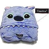 Yimidear® Hot Unisex Adult Pyjamas Cosplay Tier Onesie Nachtwäsche Nachtwäsche (L, Blue Stitch) - 5