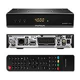 THOMSON THS222 HD Satelliten Receiver DVB-S2 (HDTV, HDMI, SCART, USB, LAN, Koaxialausgang) schwarz